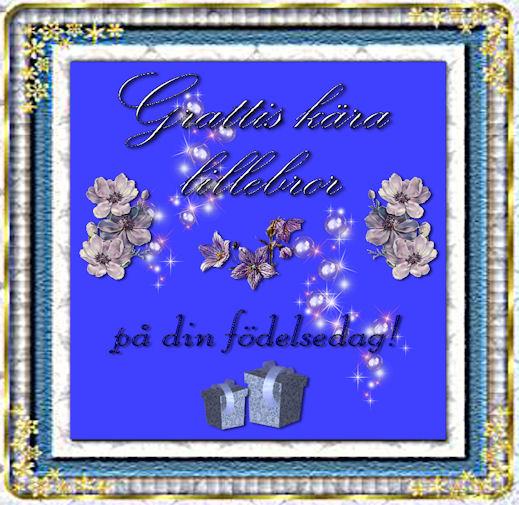 grattis bror på födelsedagen Grattis På Födelsedagen Min Bror — Sceneups grattis bror på födelsedagen