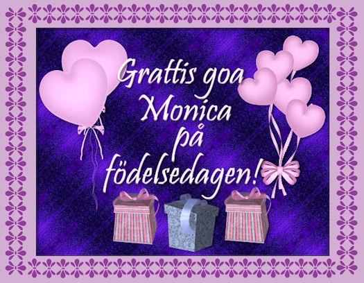 grattis monica Cherlindrea » Blog Archive » Grattis på födelsedagen Monica! grattis monica